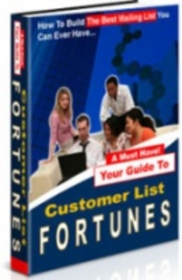 Product picture Customer List Fortunes-Make Fast Money